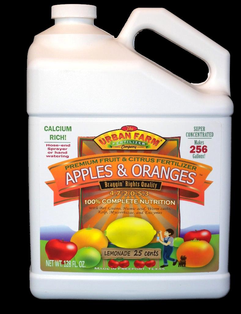 Apples & Oranges fertilizer
