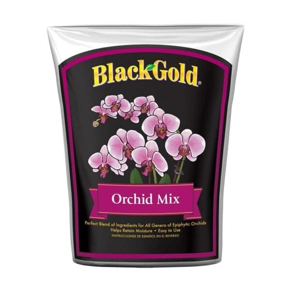 SUN GRO 8 Qt. Black Gold Natural and Organic Houseplant Orchid Potting Mix Bag