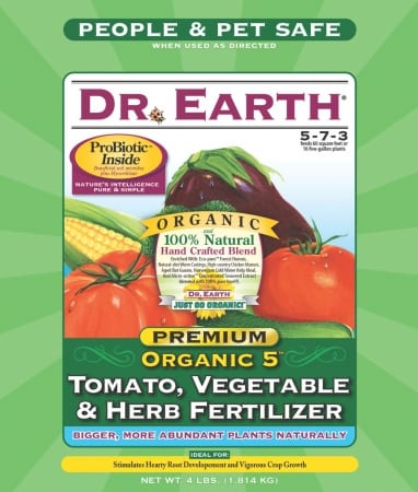 - Tomato-vegetable-herb Fertilizer 4 Pound - 704P