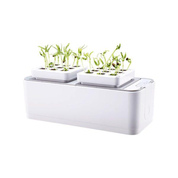 Smart Indoor Herb Garden Hydroponics Growing System self-Watering Planter for Herbs/Vegetable/Flower Home Office Smart I